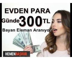 BAYAN SOHBET OPERATÖRLERİ ARANIYOR