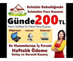 HAFTADA 1000 TL KAZAN