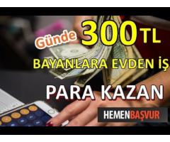 NETTEN HAFTALIK ÖDEMELİ İŞ