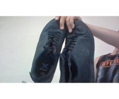 simsiyah ayakkabı 10tl 36numara erkek için
