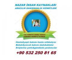 kırşehirde yatılı hasta bakıcısı çorluda yabancı hasta bakıcısı   0 532 250 81 65