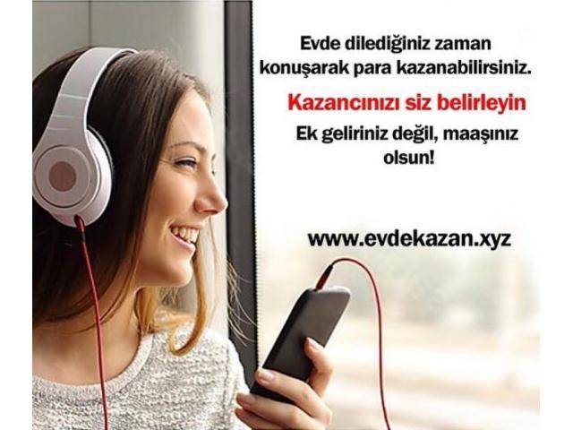 TELEFONDA SOHBET OPERATÖRÜ ARANIYOR