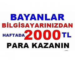 Türkiye'nin Her Yerinden Bayan Eleman Aranmaktadır