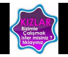 Sitemize Türkiye'nin Her Yerinden Bayan Eleman