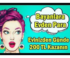 PARA KAZANMAK İÇİN BİZİMLE ÇALIŞIN SAATLİK 34 TL KAZANIN