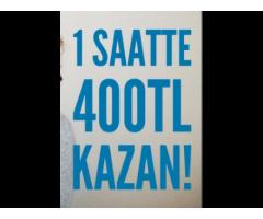 HAFTADA 1000-2000 TL ARASINDA KAZANMAK İSTERMİSİNİZ?