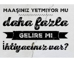 HAFTADA 1000-2000 TL ARASINDA KENDİ  EVİNİZDEN ÇALIŞIP KOLAY PARA KAZANMAK İSTERMİSİNİZ.