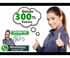 Türkiyenin yenilikçi sitesinde pc başında çalışarak ek gelir sahibi olabilirsiniz