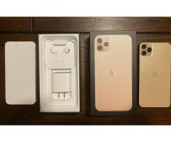 Yepyeni iPhone 11 Pro Max 256GB Altın Kilitsiz
