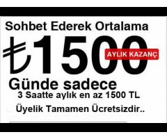 SOHBET-OPERATÖRÜ HAFTALIK ÖDEMELER İŞ BAŞVURU