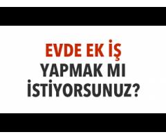 Türkiyeden ve Bulgaristandan Bayanlara-Çiftlere evinden her gün iyi para kazandırıyoruz.
