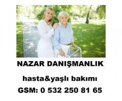 istanbul/çatalca,hasta&yaşlı bakıcısı,çocuk&bebek bakıcısı,evişlerine yardımcı