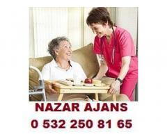 istanbul/fatih,hasta bakıcısı,yaşlı bakıcısı,çocuk bakıcı,evişlerine yardımcı