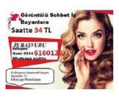 İnternetten İş İmkanı - Görüntülü Sohbet Operatörlügü