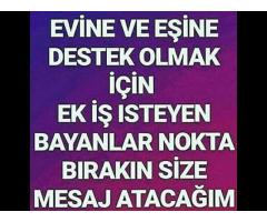 Haftalık Ödemeyle Çalışıcak Bayan - Türk ve Yabancı Model Alımı Yapılıcaktır !!!