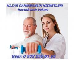 mersin, hasta bakıcı,yaşlı bakıcı hizmeti,0 532 250 81 65