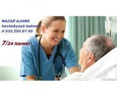 trabzon hasta bakıcı,yaşlı bakıcı hizmeti.0 532 250 81 65