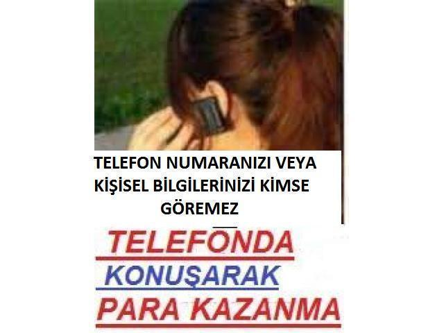 Telefonda sohbet operatörü aranıyor