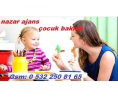 İstanbul'da yatılı bebek çocuk bakıcısı