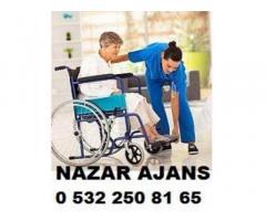 Rize'de hasta bakıcı Rize'de yaşlı bakıcısı yatılı bakıcı