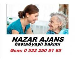 Zonguldak'ta hasta bakıcı Zonguldak'ta yaşlı bakıcısı Zonguldak'ta yatılı bakıcı 7/24 hizmet