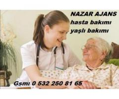 Bursa'da bakıcı Bursa'da hasta bakıcısı Bursa'da yatılı yabancı bakıcı