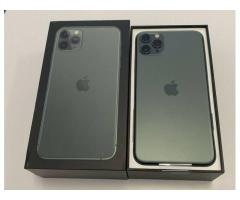 Apple iPhone 11 Pro 64GB = 400 EUR , iPhone 11 Pro Max 64GB = €430 EUR, iPhone 11 64GB = €350 EUR