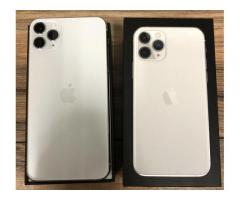Apple iPhone 11 Pro 64GB = 400 EUR , iPhone 11 Pro Max 64GB = €430 EUR, iPhone 11 64GB = 350 EUR