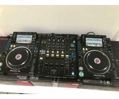 2x Pioneer CDJ-2000NXS2 + 1x DJM-900NXS2 mixer = 1899 EUR ,  WHATSAPP Chat : +27642105648