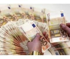 Krediler 5.000 Euro'dan 500.000 Euro'ya kadar yapılıyor.