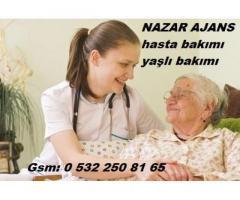 erzincanda hasta bakıcı,yaşlı bakımı,hasta refakatçı.0 532 250 81 65