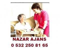 vanda hasta bakıcı,yaşlı bakımı,hasta refakatçı.0 532 250 81 65