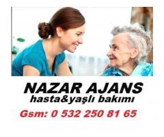 nevşehirde hasta bakıcı,yaşlı bakımı,hasta refakatçı.0 532 250 81 65