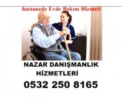 Erzurum'da hasta bakıcı