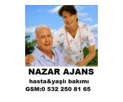Çerkezköy'de bakıcı Çerkezköy'de 7/24 hasta bakıcı Çerkezköy'de yatılı bayan bakıcı
