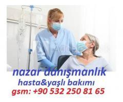 türkiye geneli hasta bakım hizmeti