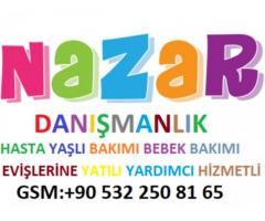 Adana'da hasta bakıcısı arıyorum