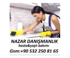 Edirne'de hasta bakıcı yatılı bakıcı
