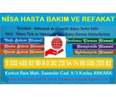 İskele Mehmetçik refakatçi - hasta bakıcısı - yaşlı bakıcısı hizmetleri