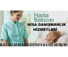 Ankara Evren refakatçi - hasta bakıcısı - yaşlı bakıcısı hizmetleri